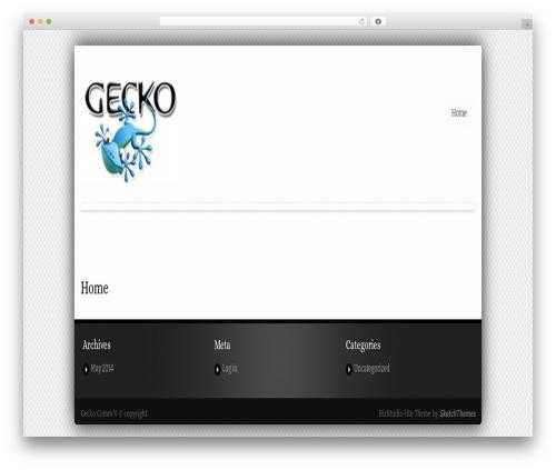 BizStudio Lite free WP theme - gecko-v.com