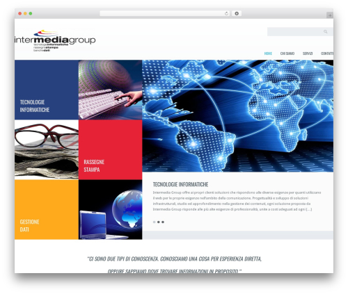 Klasik WordPress theme - gruppointermedia.it