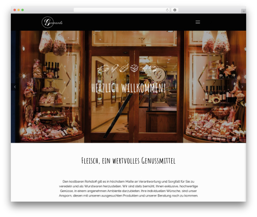 WordPress template Betheme - gerrards-fleischerei.de