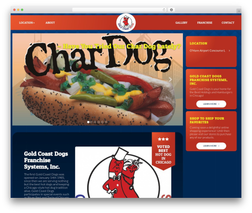 WordPress theme Master Theme - goldcoastdogs.net