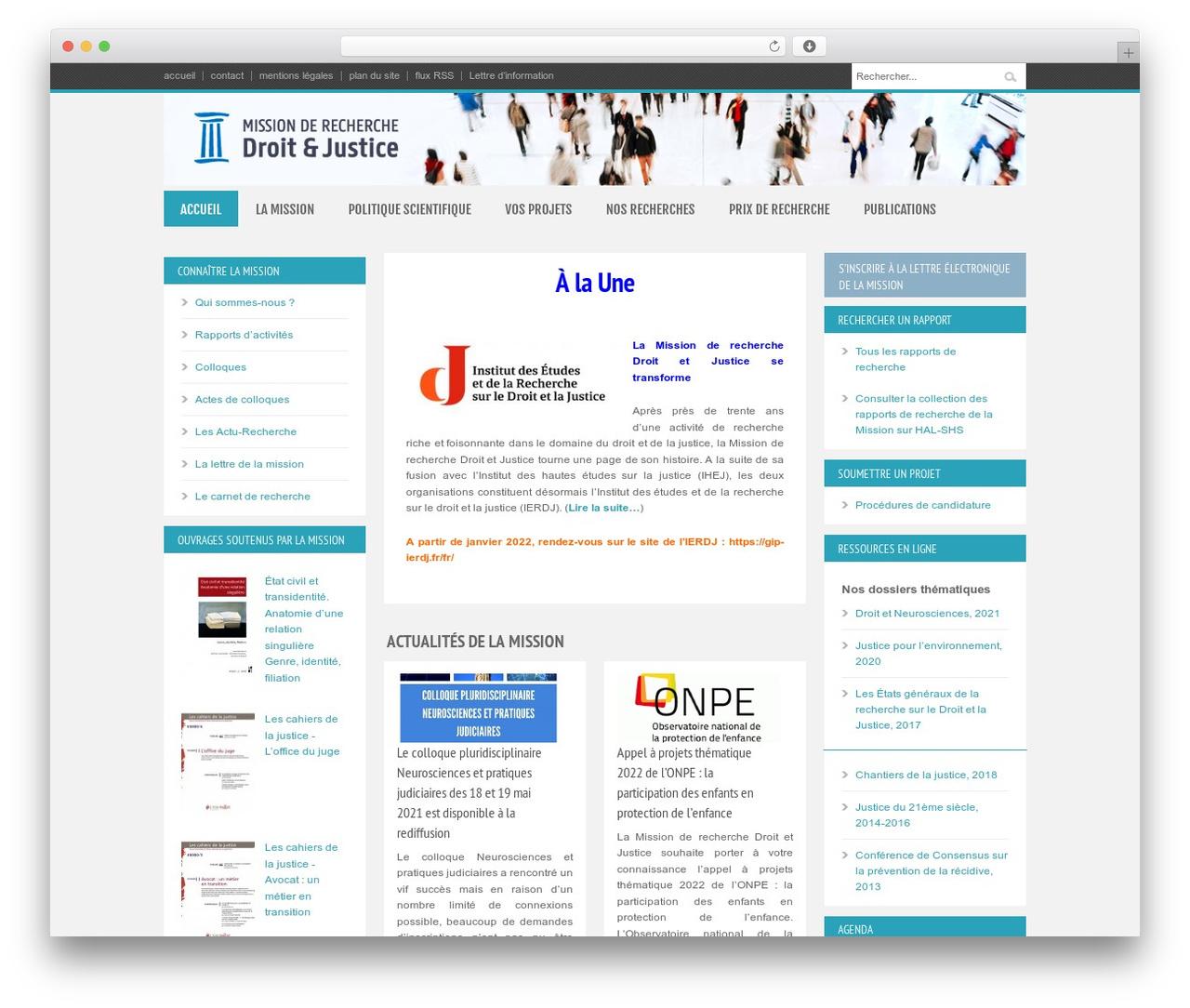 Bangkok Press best WordPress theme - gip-recherche-justice.fr