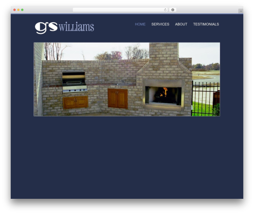 BBQ WordPress page template - gswilliamscustomhomes.com