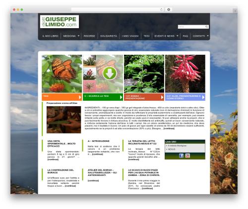 Eximius WordPress template - giuseppelimido.com