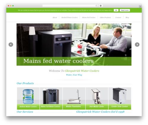 Lounge WordPress theme - glenpatrickwater.ie