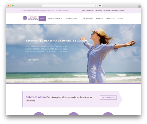 Template WordPress Soulmedic - gabineteabora.es