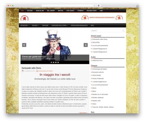 Theme WordPress TechBits - gruppoarcheologicobergamasco.org