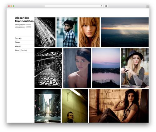Twenty Fifteen WordPress video theme - giannoulatos.com