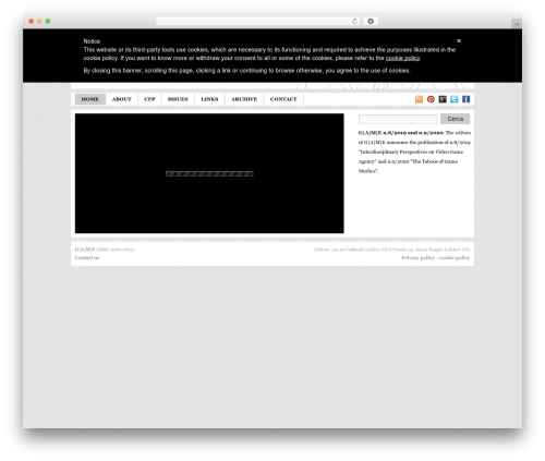 Game WordPress page template - gamejournal.it