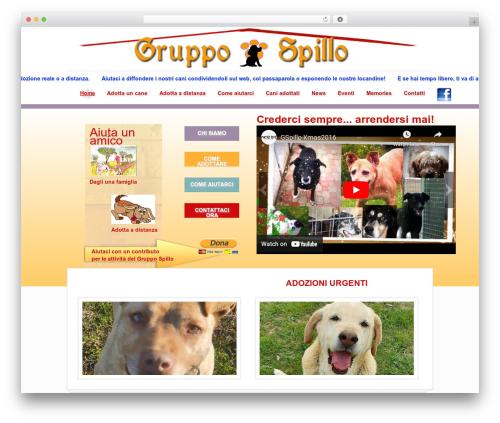Rescue top WordPress theme - gruppospillo.com