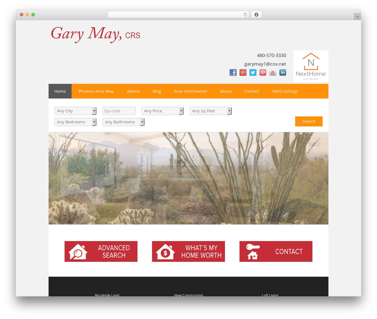 Theme WordPress 1143 - garymaygroup.com