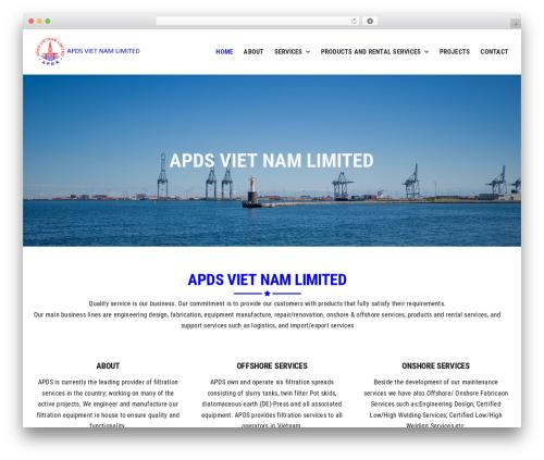 Theme WordPress Avada - apds-vn.com