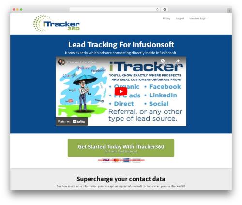 Theme WordPress SmartTheme - go.itracker360.com