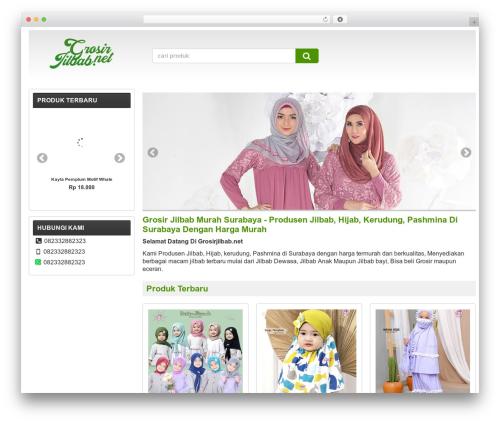 WP-Lancar WordPress theme - grosirjilbab.net
