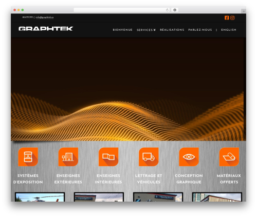 WP theme X - graphtek.ca
