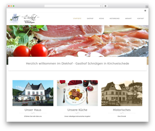 Brasserie Pro top WordPress theme - gasthof-schnuetgen.de