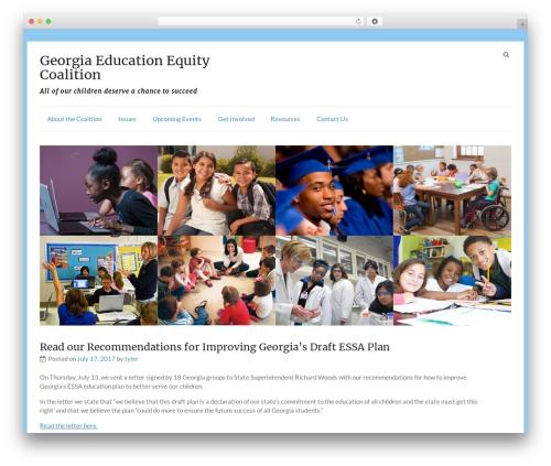 Speedy best WordPress theme - gastandardsequity.com
