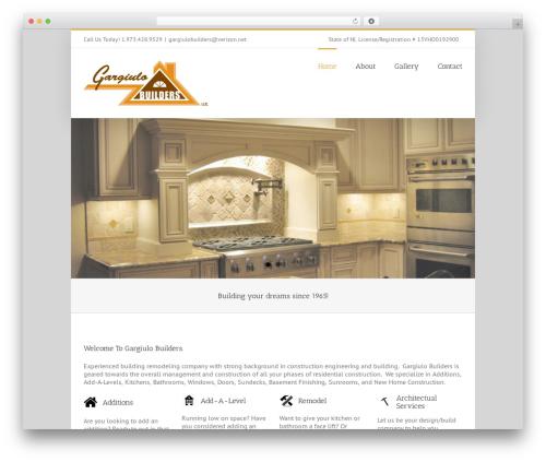 Template WordPress Avada - gargiulobuilders.com
