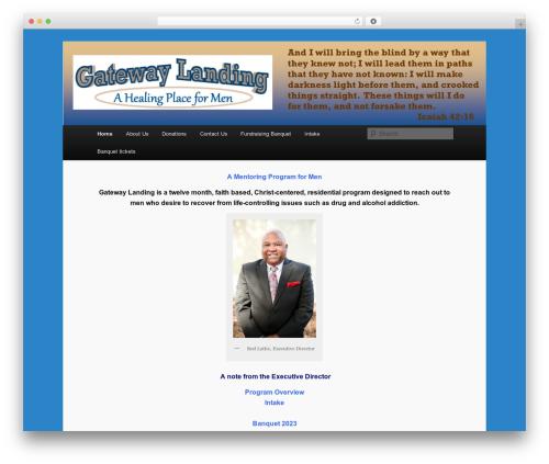 Twenty Eleven free website theme - gatewaylanding.org