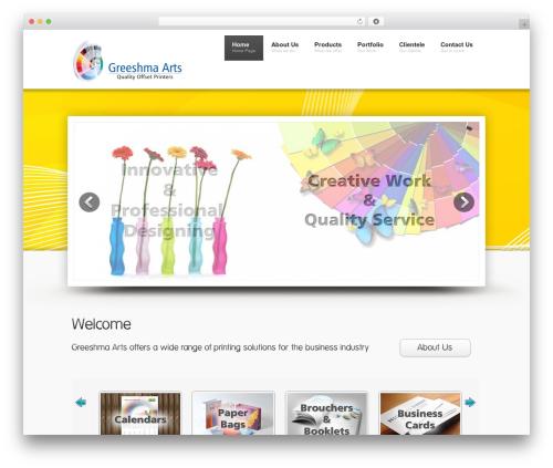 Free WordPress JQuery Slick Menu Widget plugin - greeshmaarts.com