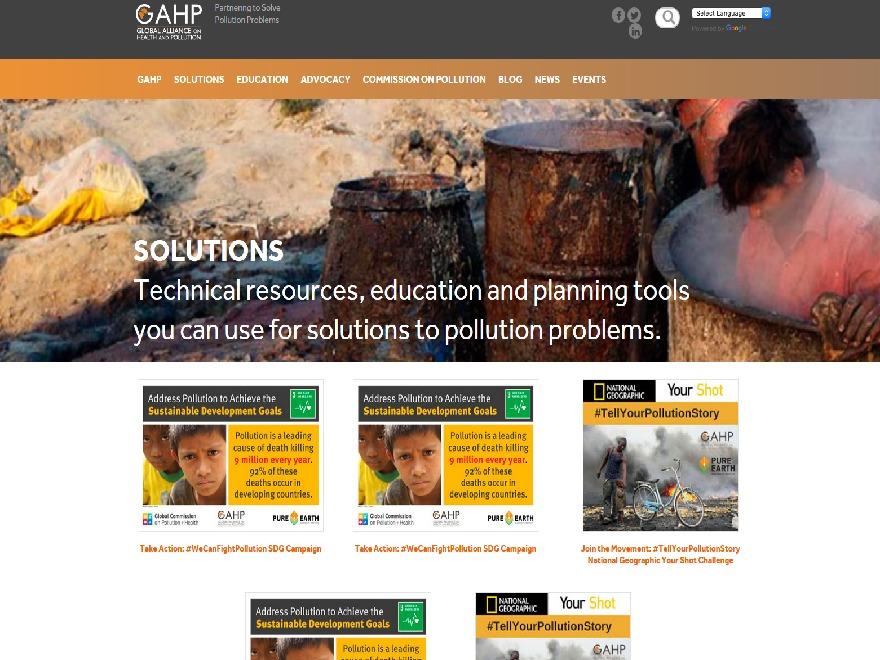 GAHP_Website theme WordPress