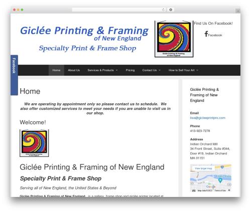 GeneratePress free WP theme - gicleeofnewengland.com