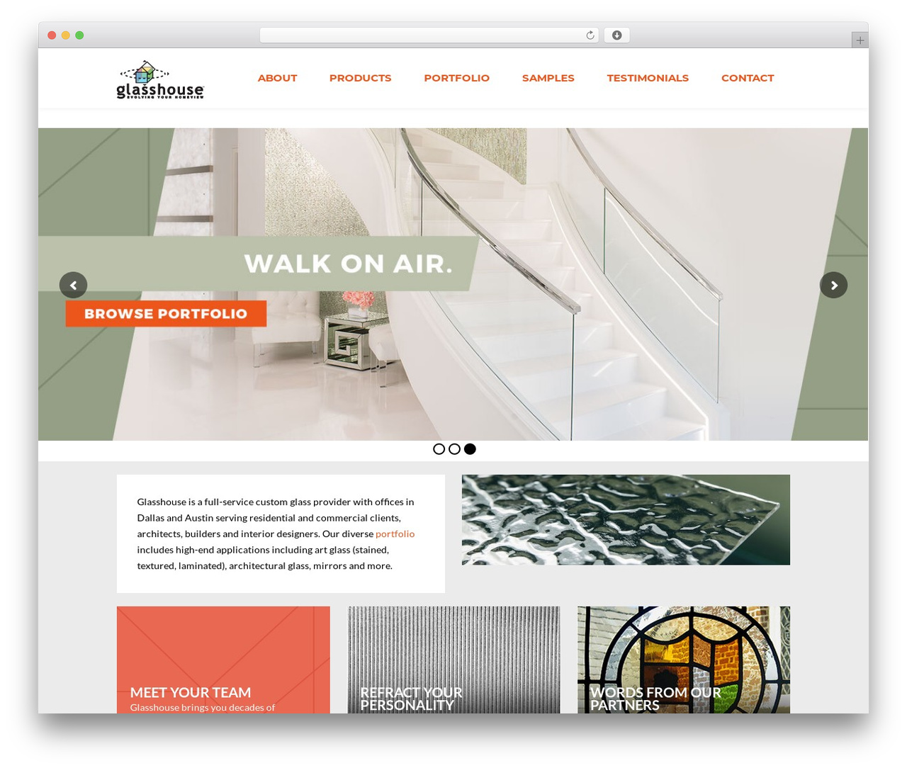 Glasshouse WP template - glasshouseproducts.com