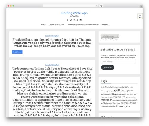 SomeBlog theme free download - golfingwithlapo.com