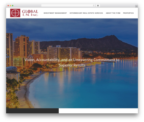 WordPress theme Customizr - globalin.us