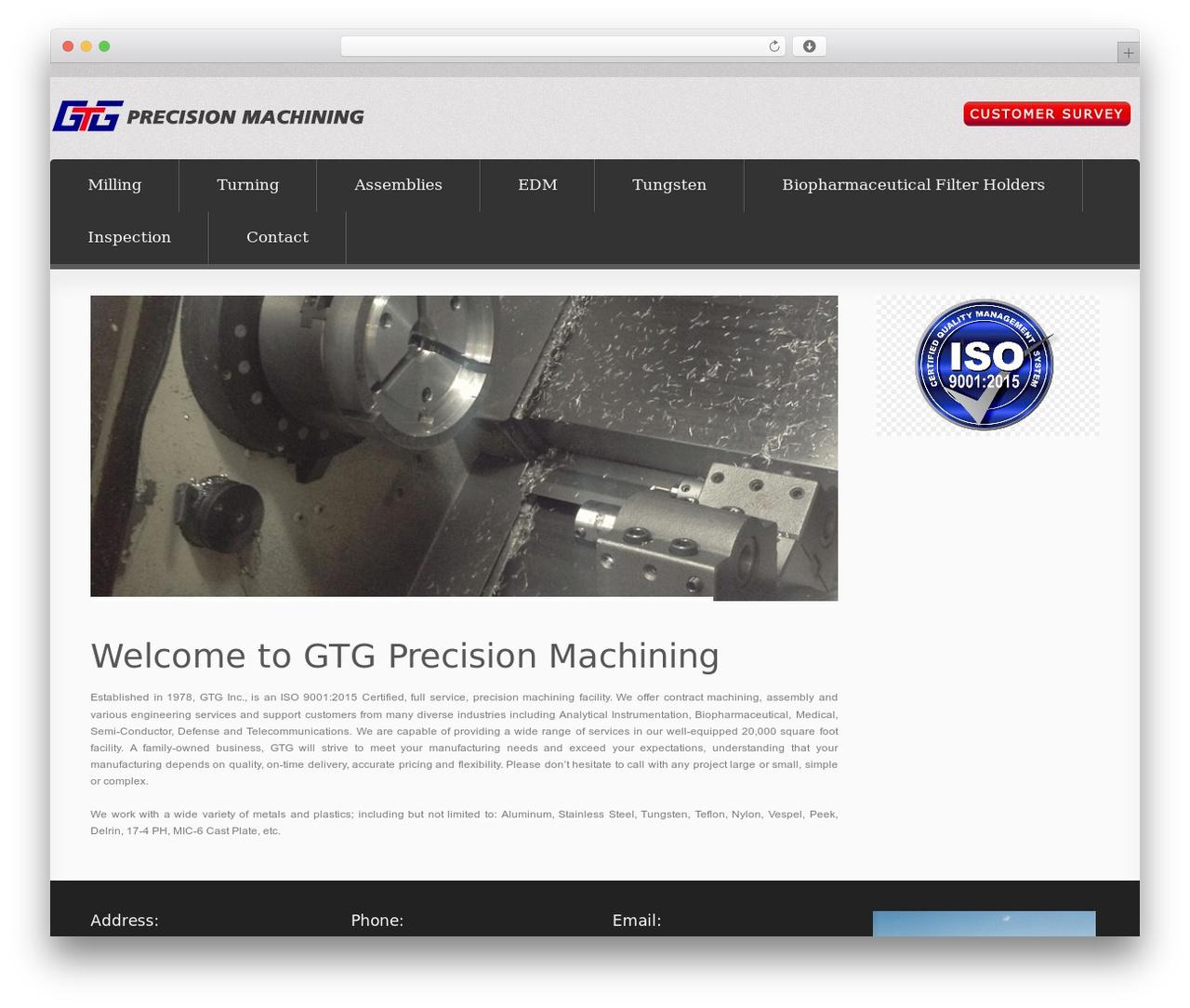 WordPress theme Smart IT - gtgmach.com