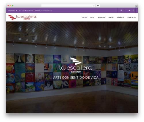WP template Elite - galerialaescalera.com
