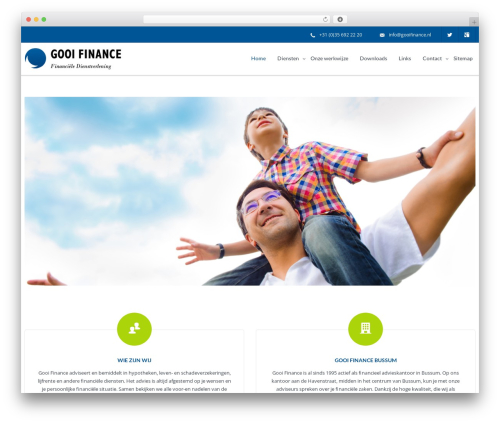 WP theme IncomeUp - gooifinance.nl