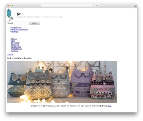 Best WordPress template Shoppica - gu-tworzy.pl