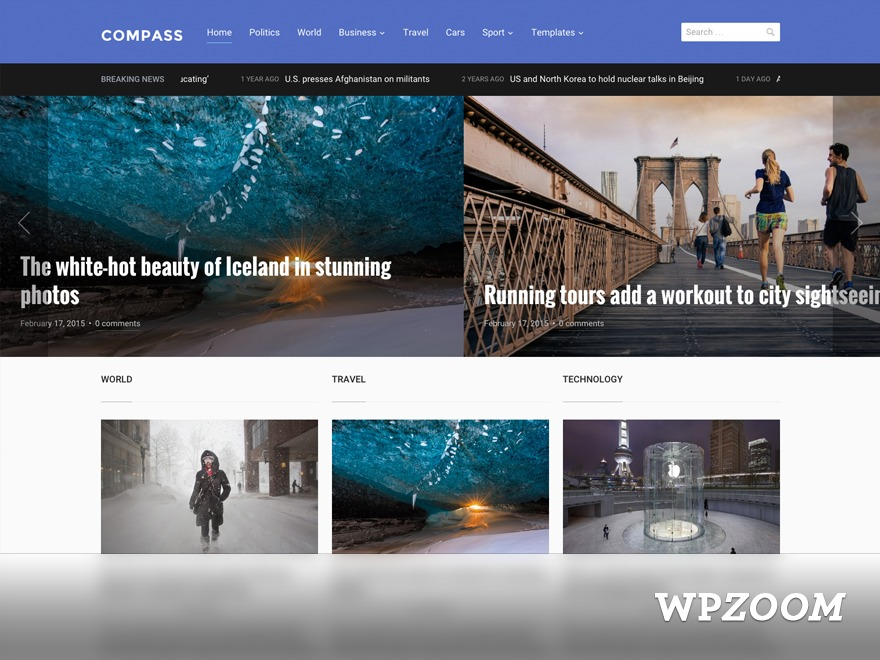 Compass   Shared By Themes24x7.com WordPress news template