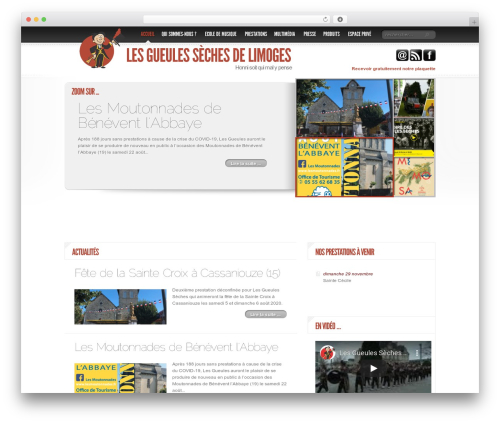 Delicate News WordPress magazine theme - gueules-seches.com