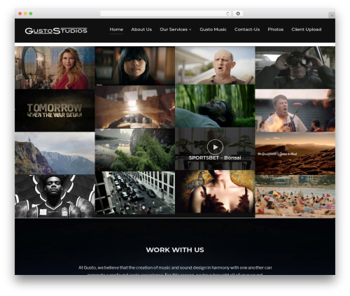 Inspiro best WordPress theme - gustostudios.com.au