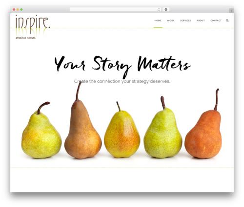Theme WordPress Jump Start - inspiregraphicdesign.com