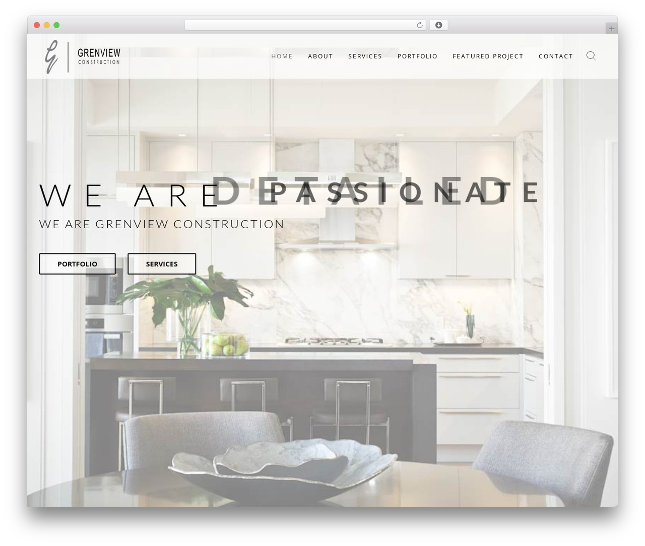 Wp Haswell WordPress website template - grenview.com
