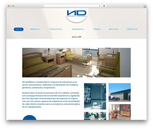 Cherry Framework WordPress page template - geriatrico.ndmobiliarioyequipamiento.com
