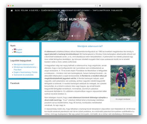 Free Template WordPress theme design - guehungary.com