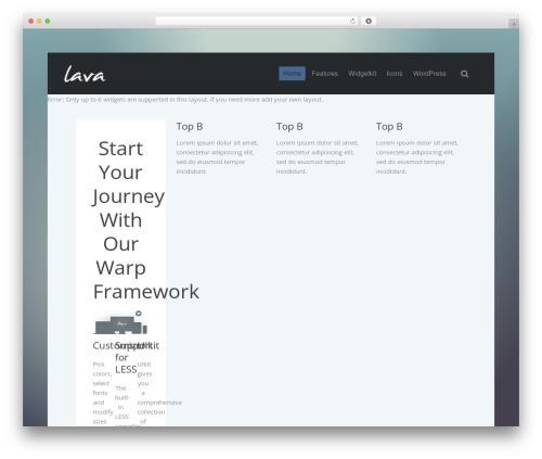 Lava WordPress theme - gtwee.nl