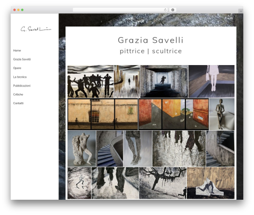 Phlox best free WordPress theme - graziasavelli.com