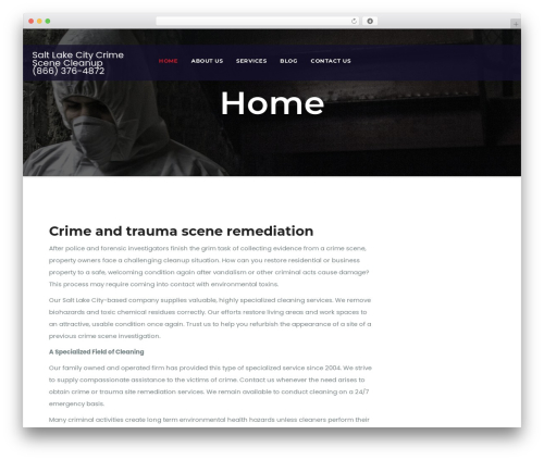 Awesome Business business WordPress theme - saltlakecitycrimescenecleanup.com