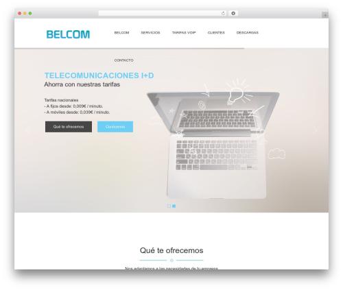 Jewel Business WordPress business WordPress theme - grupobelcom.com