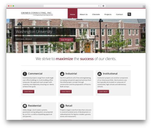 Theme WordPress Inceptio - grimesconsulting.com