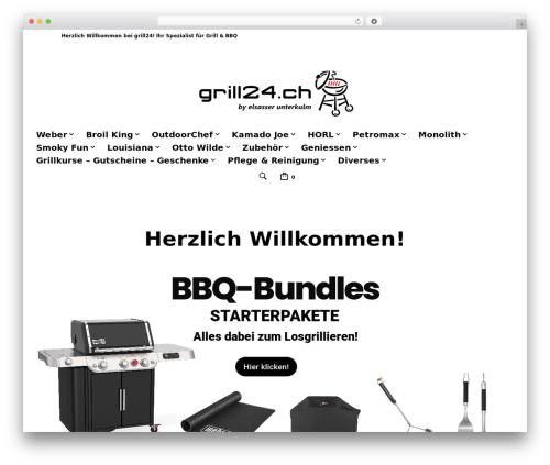 WordPress woocommerce_postfinancecw plugin - grill24.ch