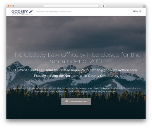 Best WordPress template Themify Fullpane - godseylawoffice.com