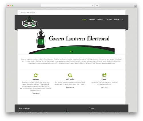 Theme WordPress Corpo - greenlanternelectrical.ca