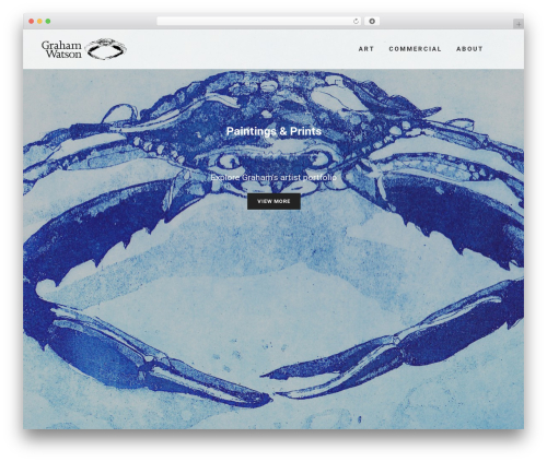 WordPress template Bridge - grahamawatson.com