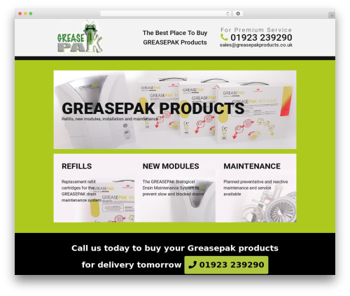 WP template cherry - greasepakproducts.co.uk