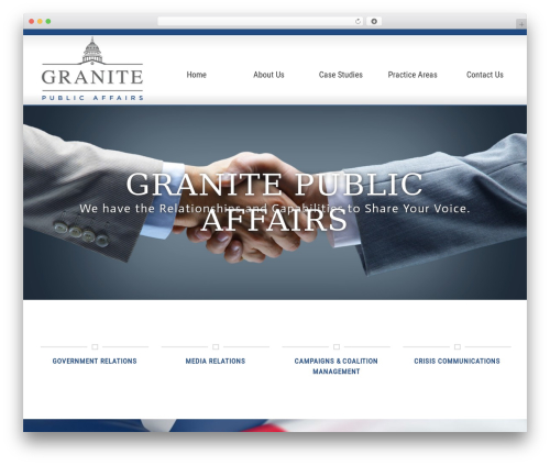 WP template Rise Lite - granitepublicaffairs.com
